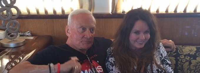 Sarah Brightman & Buzz Aldrin Discuss Space Travel