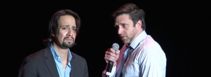BWW TV Exclusive: Raul Esparza and Lin-Manuel Miranda Take on Maria and Anita- Watch 'A Boy Like That' at MISCAST!