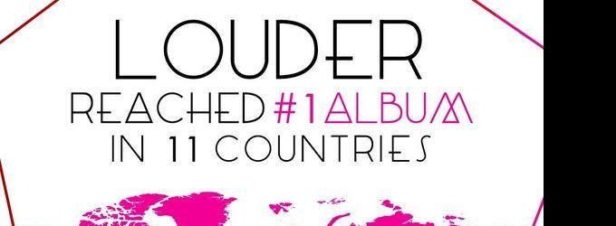 Lea Michele's LOUDER Reaches #1 In 11 Countries; Summer World Tour Confirmed