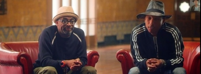 Pharrell Williams & Spike Lee to Team for AMERICAN EXPRESS UNSTAGED at NY's Apollo Theater
