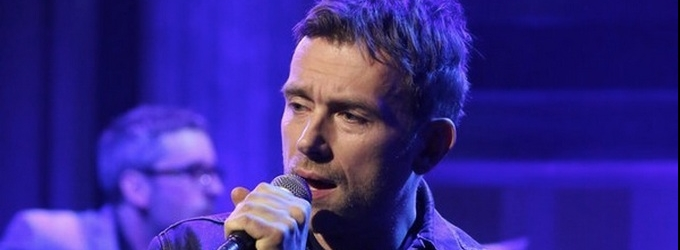 VIDEO: Damon Albarn Performs 'Lonely Press Play' on TONIGHT SHOW