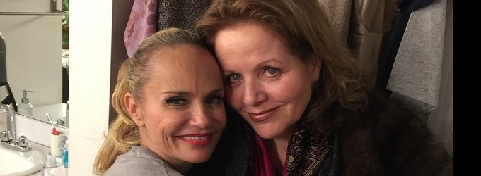Renee Fleming Visits Kristin Chenoweth Backstage At ON THE TWENTIETH CENTURY