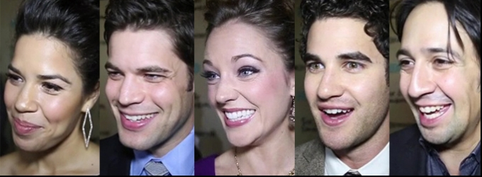BWW TV: Chatting with Darren Criss, Laura Osnes & More on the SIX BY SONDHEIM Premiere Red Carpet- Plus a Sneak Peek!