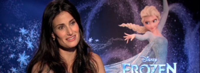 BWW TV Exclusive: Get FROZEN! Behind the Scenes of Disney's Animated Movie Musical with Idina Menzel