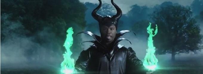 VIDEO: 50 Cent Spoofs Disney's MALEFICENT on Jimmy Kimmel