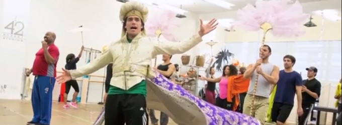 STAGE TUBE: Behind the Scenes of ALADDIN's Pre-Broadway Run in Toronto!