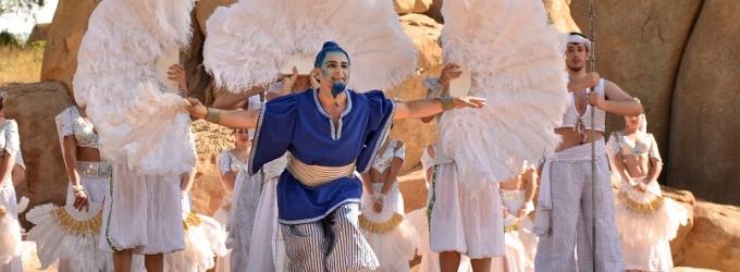STAGE TUBE: Presentación de 'Aladín' en el Bioparc de Valencia