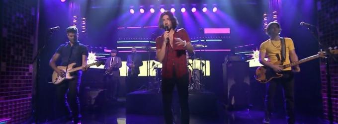 VIDEO: MAGIC! Perform 'Rude' on TONIGHT SHOW