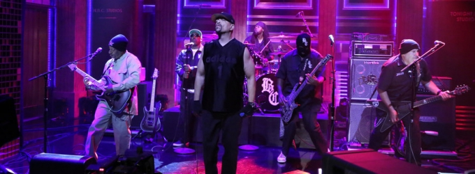 VIDEO: Ice-T & Body Count Perform 'Enter the Dark Side' on FALLON