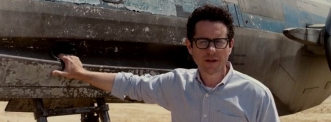 VIDEO: J.J. Abrams Reveals X-Wing Starfighter from STAR WARS EPISODE VII!