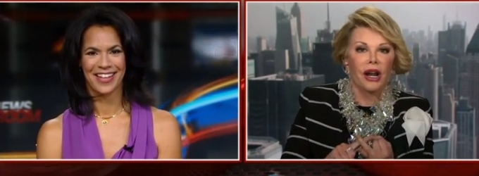 VIDEO: Joan Rivers Walks Out on CNN Interview; Declares 'I Tell the Truth!'