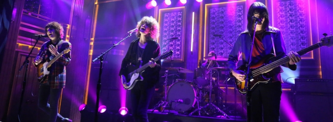 VIDEO: UK Band Temples Perform 'Shelter Song' on TONIGHT SHOW