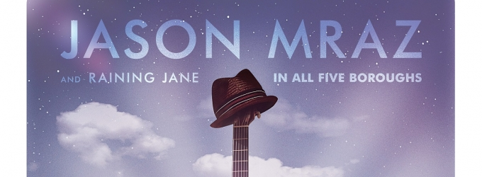 Jason Mraz 'The Five Boroughs Tour' to Hit Venues Across NYC This September