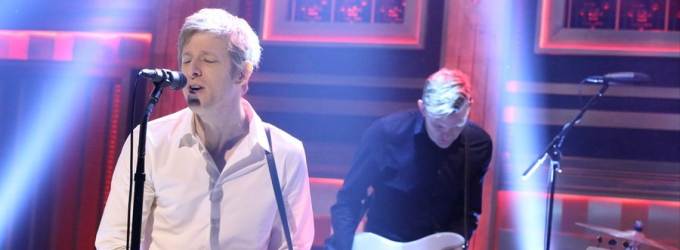 VIDEO: Spoon Performs New Single 'Do You' on TONIGHT SHOW