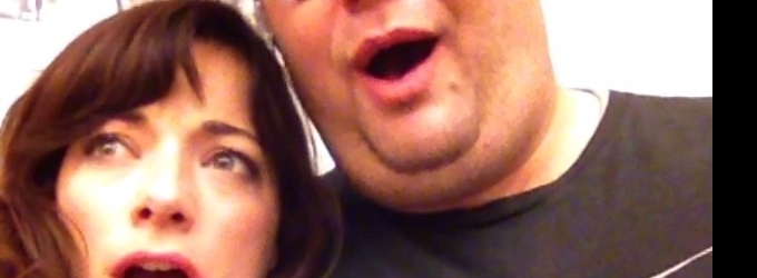Laura Michelle Kelly & Josh Lamon Share Funny FINDING NEVERLAND Rehearsal Video