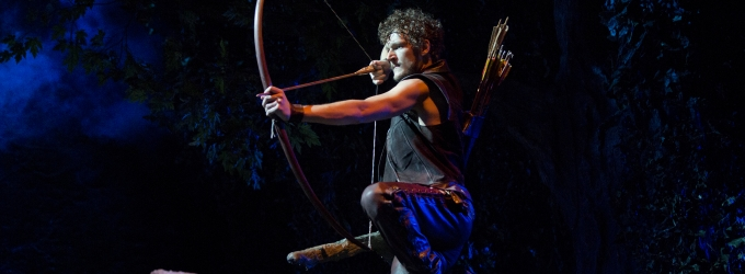 BWW TV: Broadway-Bound THE HEART OF ROBIN HOOD Stars Gabriel Ebert & Izzie Steele Talk About the Show, Parsonsfield, Stage Fighting & More!