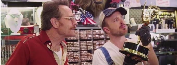 VIDEO: BREAKING BAD's Bryan Cranston & Aaron Paul Reunite in Hilarious New Emmy TV Spot
