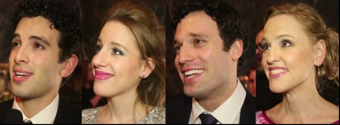 BWW TV: Chatting with the Cast of BEAUTIFUL on Opening Night- Jessie Mueller, Jake Epstein & More!