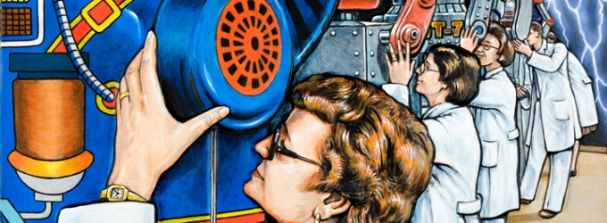 BWW Previews: DENNIS LARKINS at Sacred Gallery in NYC, 'Road Trip to the Fourth Dimension'