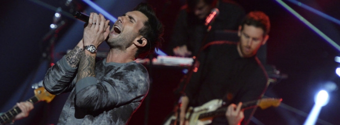 VIDEO: Maroon 5 Performs Hit Single 'Maps' on AMERICA'S GOT TALENT