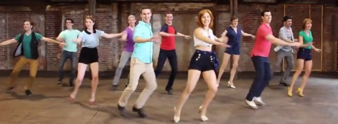 STAGE TUBE: Broadway Dancers Get 'Tappy' to Pharrell Williams' Hit Single