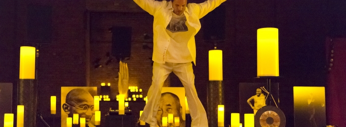 BWW Reviews: Savion Glover Searches for Enlightenment in OM