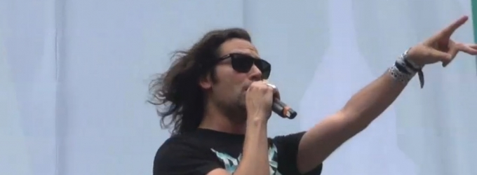 BWW TV: He's Back! Constantine Maroulis Returns to ROCK OF AGES in Bryant Park!