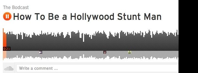 STAGE TUBE: THE BODCAST Talks to Hollywood Stunt Man, GABE HANSON