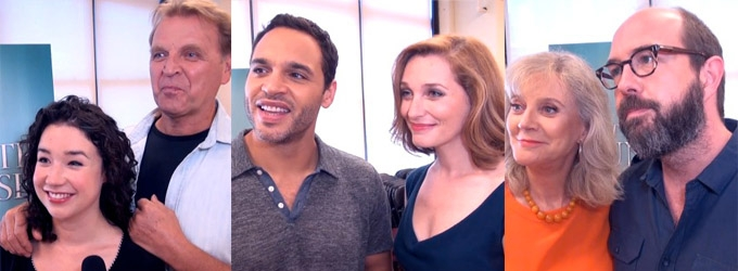 BWW TV: MTC's Broadway-Bound THE COUNTRY HOUSE COMPANY Meets the Press!