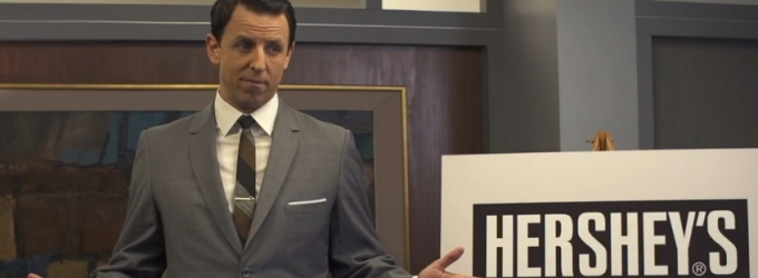 VIDEO: Seth Meyers Spoofs MAD MEN on 'Late Night'