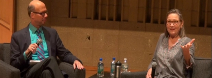 BWW TV Exclusive: Backstage with Richard Ridge - SAG Foundation Conversations Series with Cherry Jones