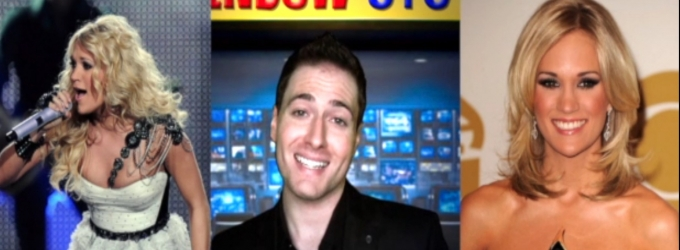 BWW TV EXCLUSIVE: CHEWING THE SCENERY WITH RANDY RAINBOW - Randy Gives THE SOUND OF MUSIC Tips to Carrie Underwood