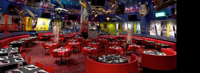 Bar of the Week: PLANET HOLLYWOOD in NYC
