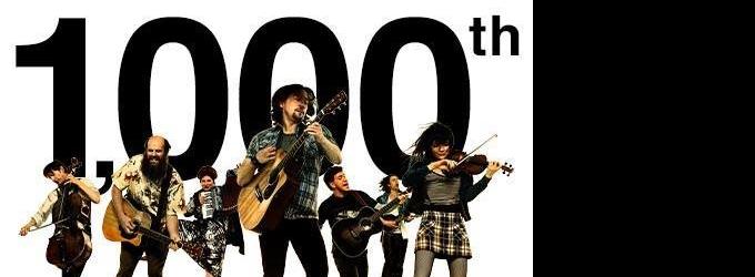 ONCE Celebrates 1000 Performances On Broadway