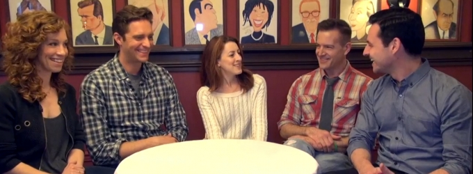 BWW TV: Catching Up with the Cast of SUBMISSIONS ONLY- Lindsay, Colin, Kate, Max & Stephen!