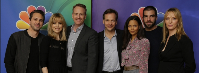 Photo Flash: NBC Executives Pose With Network's New Stars at 2014 TCA Winter Tour