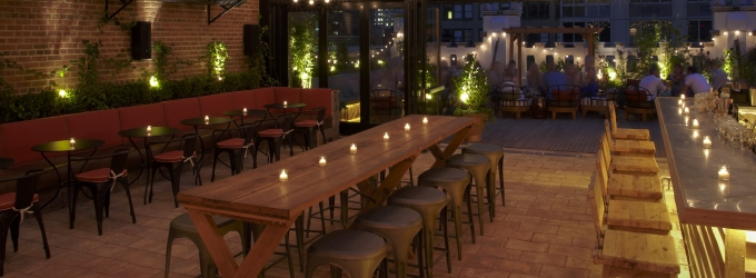 Bar of the Week: REFINERY ROOFTOP, NYC