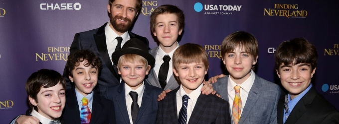Photo Coverage: Something About This Night! Matthew Morrison & FINDING NEVERLAND Cast Celebrate Opening