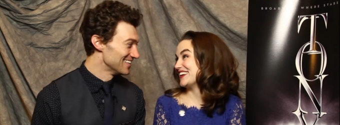 BWW TV Exclusive: Meet the 2014 Tony Nominees- Bryce Pinkham & Lauren Worsham Thrilled to Wave the Flag of GENTLEMAN'S GUIDE
