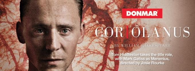 First Promo For Tom Hiddleston In CORIOLANUS