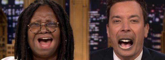 VIDEO: Whoopi Goldberg Plays Lip Flip, Talks 'Ninja Turtles' on TONIGHT SHOW