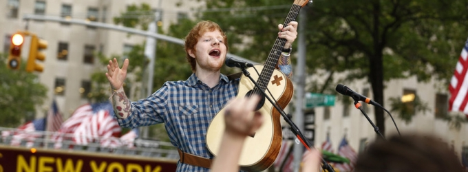 VIDEO: Ed Sheeran Performs 'Sing', 'Thinking Out Loud' & More on TODAY