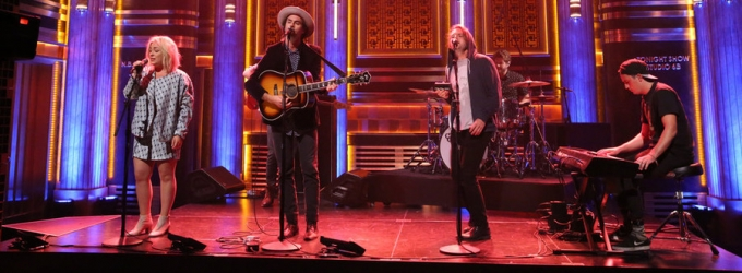 VIDEO: The Head and the Heart Perform 'Let's Be Still' on TONIGHT