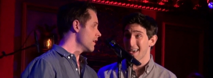 BWW TV Exclusive: CUTTING-EDGE COMPOSERS CORNER- Ben Fankhauser and Michael McCorry Rose Sing Alexander Sage Oyen's 'Gods Among Men'