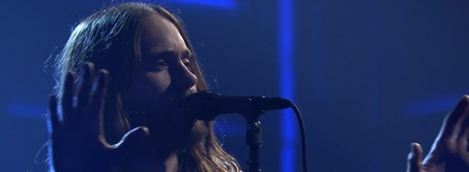 VIDEO: Thirty Seconds to Mars Performs 'End of All Days' on TONIGHT SHOW
