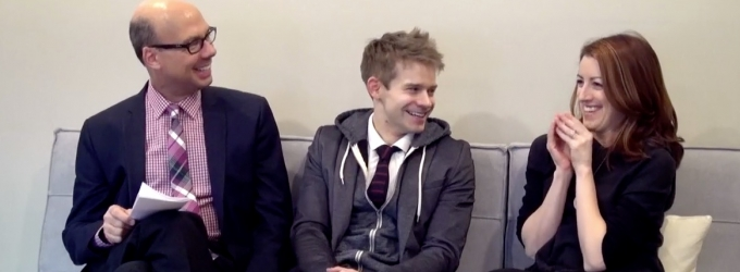 BWW TV Exclusive: BACKSTAGE WITH RICHARD RIDGE- Submissions Only Edition with Kate Wetherhead and Andrew Keenan-Bolger!