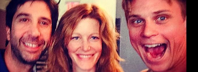 Billy Magnussen, David Schwimmer & Anna Gunn Tweet From SEX WITH STRANGERS Rehearsal