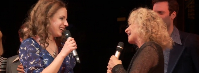 BWW TV: Broadway's Got a Friend in Carole! King Visits BEAUTIFUL, Sings & Raises $30,000 for BC/EFA!
