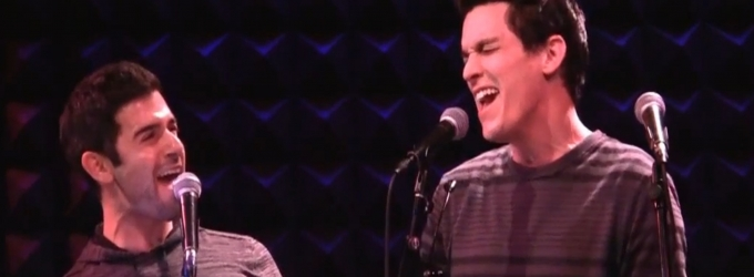 BWW TV Exclusive: CUTTING-EDGE COMPOSERS CORNER - Adam Kantor & Preston Sadleir Perform Zack Zadek's 'Something There'