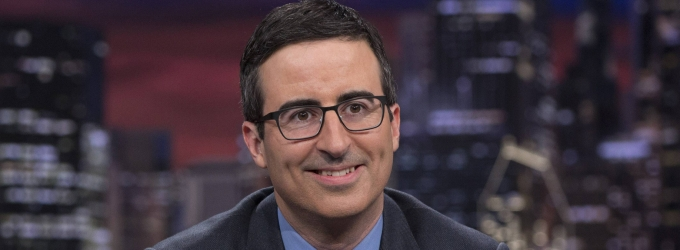 John Oliver Announces Fall 2014 Tour!